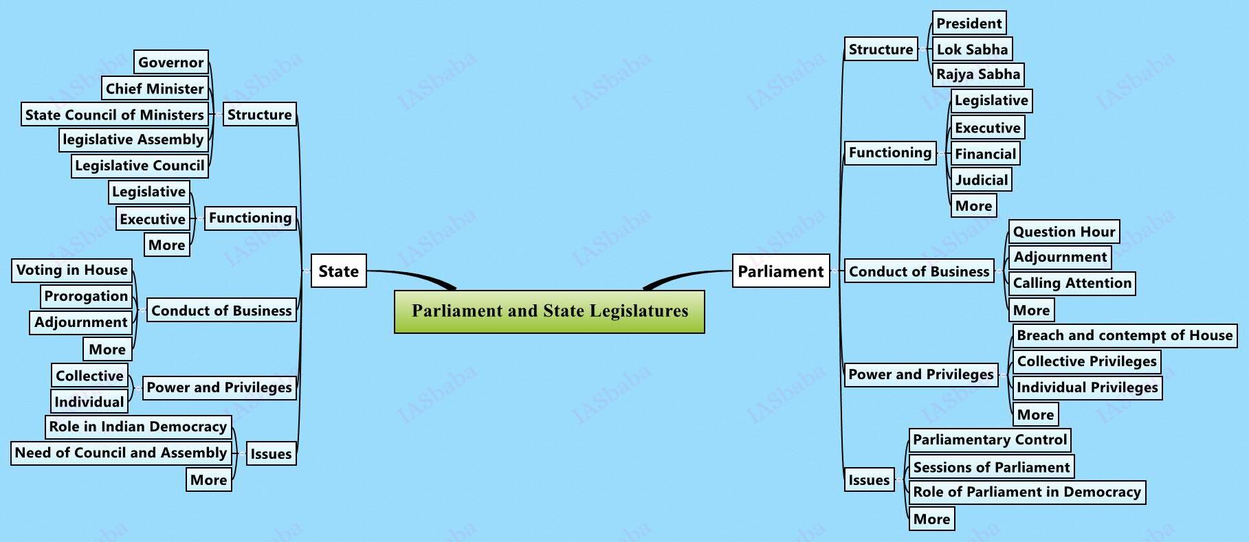 Parliament and State Legislatures