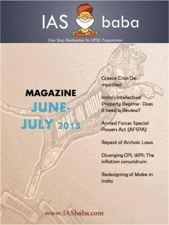 June-July Magazine UPSC Current Affairs IASbaba 1