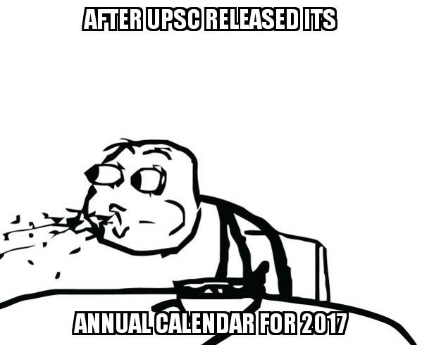 After Annual Calendar - IASbaba