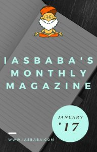 IASbaba's Monthly Current Affairs Magazine- JANUARY 2017