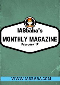 IASbaba's Monthly Current Affairs Magazine- FEBRUARY 2017