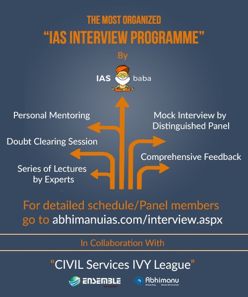 IMPORTANT ANNOUNCEMENT: IASbaba's WORKSHOP ON INTERVIEW PREPARATION 2016-2017 @ DELHI