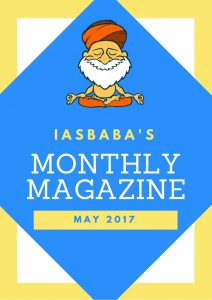 IASbaba's Monthly Current Affairs Magazine- MAY 2017