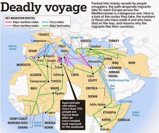 Mediterranean migrant voyages -ST Graphics-min