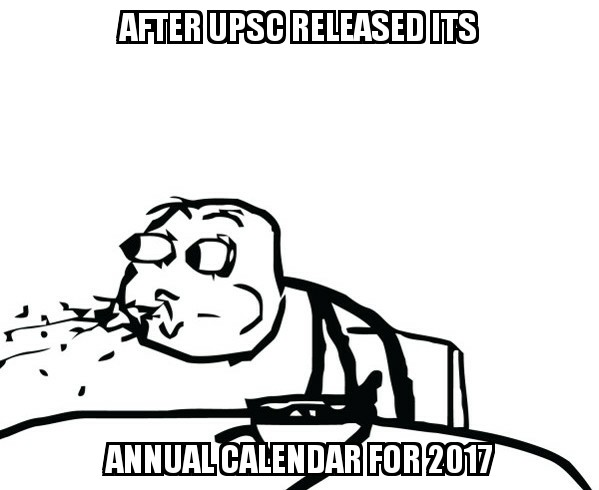 After Annual Calendar - IASbaba