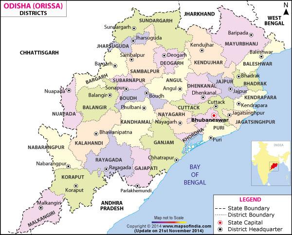 orissa-district-map