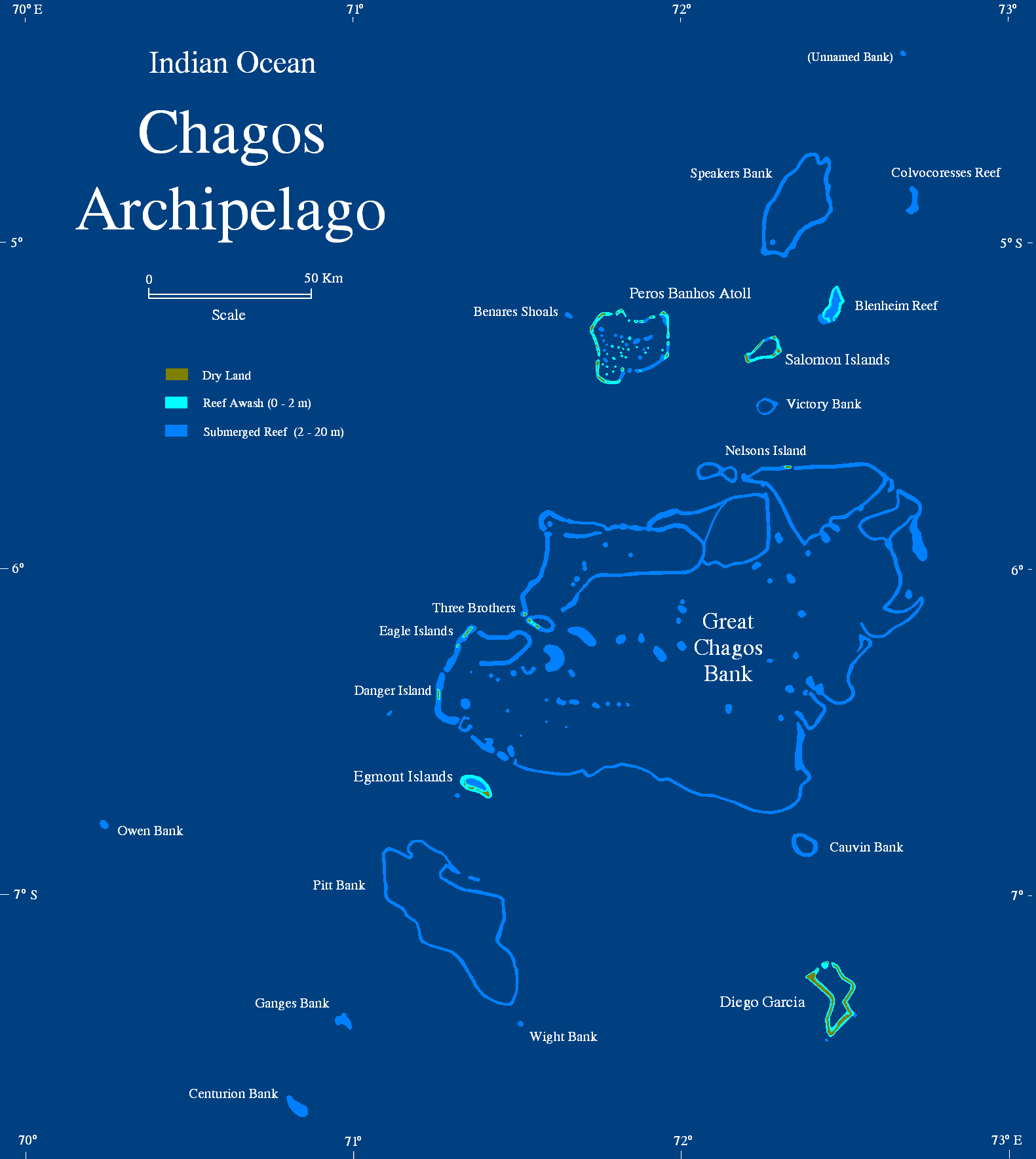 IASbaba's Mind Map Chagos Archipelago - Issue, 24th January