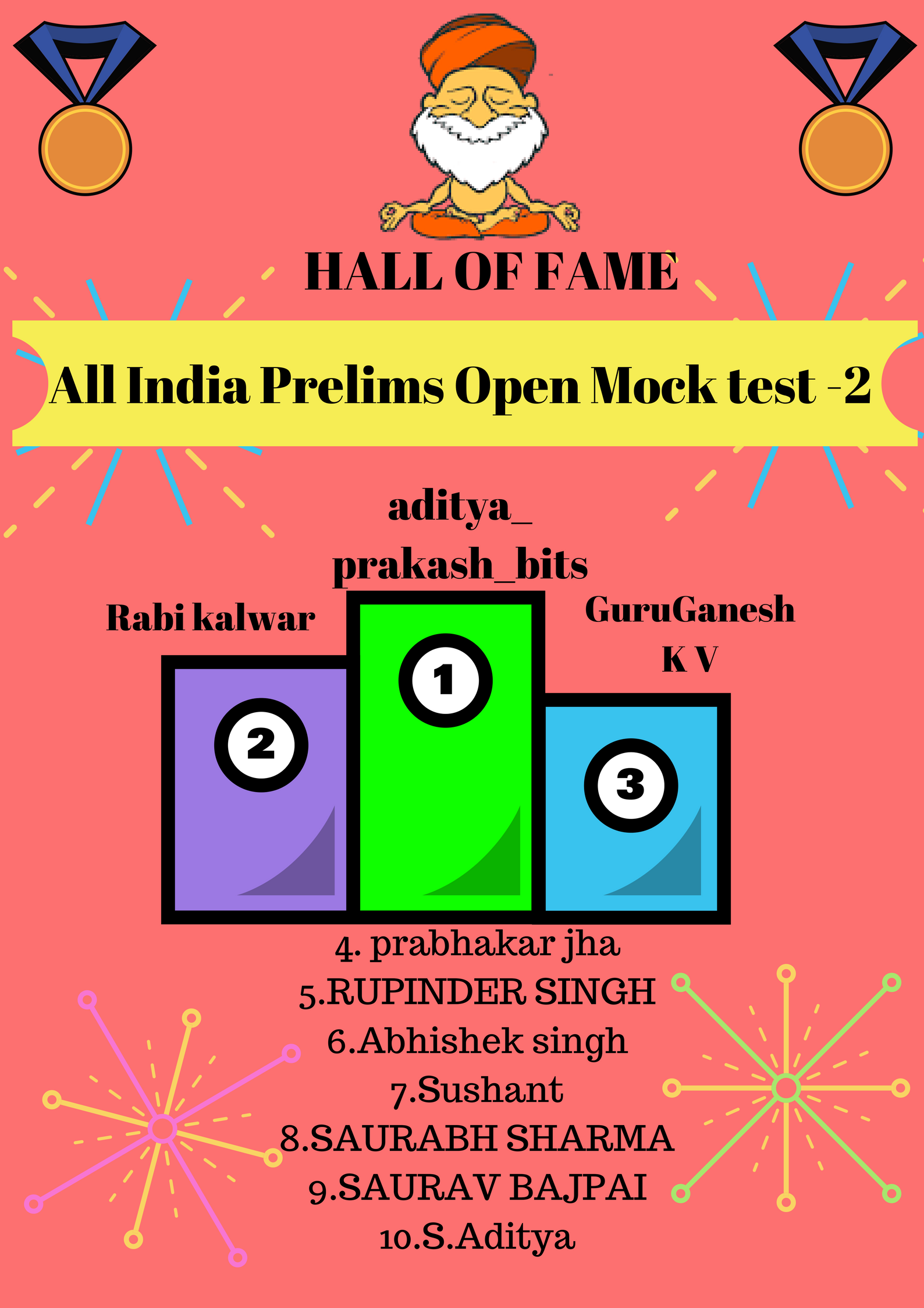 IASbaba's ALL INDIA PRELIMS OPEN MOCK TEST 2-RESULT, RANK AND ANALYSIS!