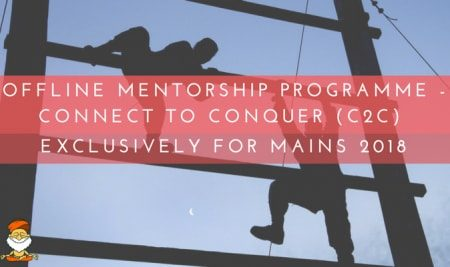 Offline Mentorship-Connect to Conquer (C2C) 2018