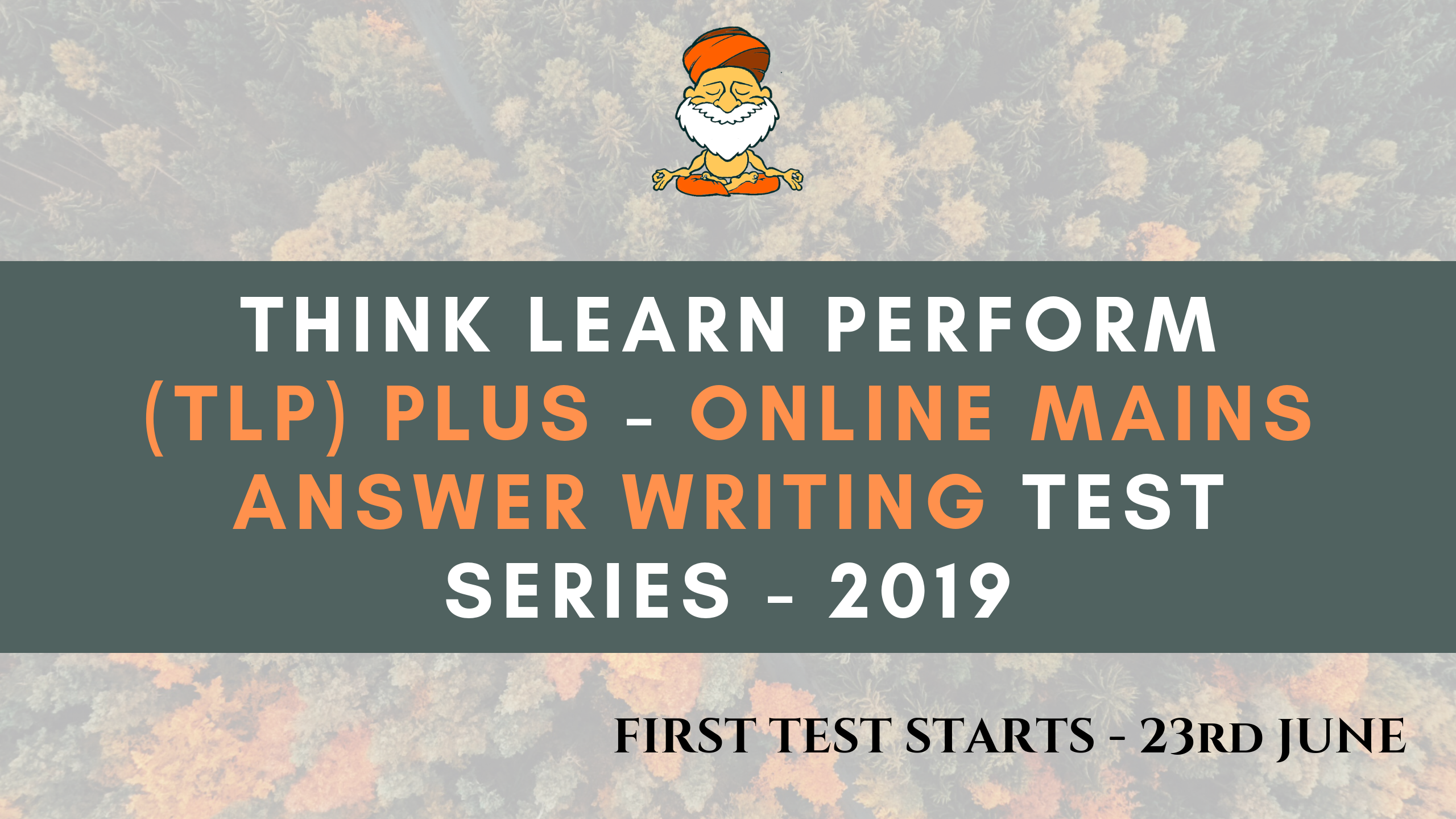 Quick Update: IASbaba's TLP PLUS – ONLINE MAINS Test Series