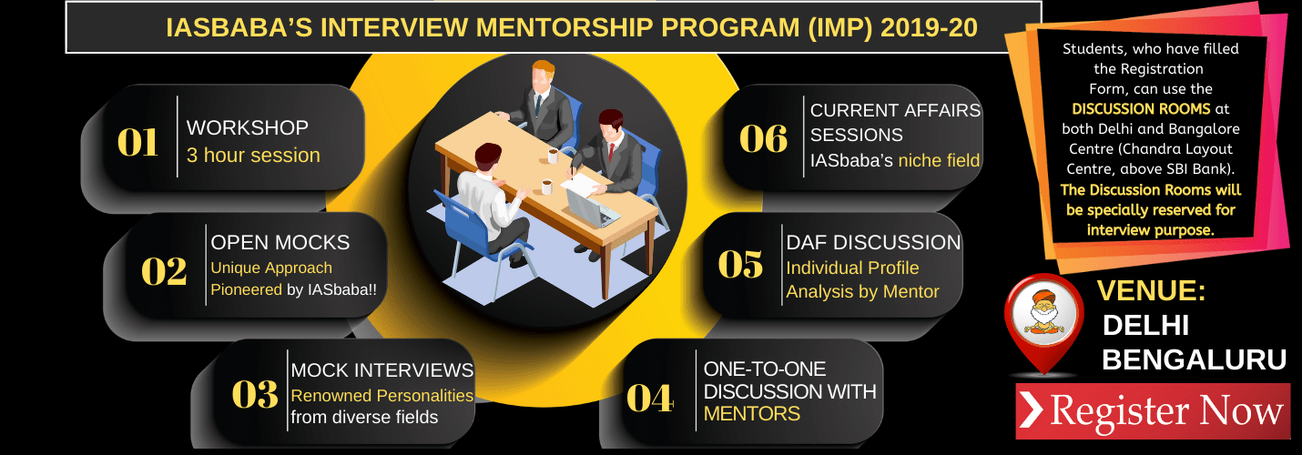 IASbaba's Interview Mentorship Programme (IMP) 2019