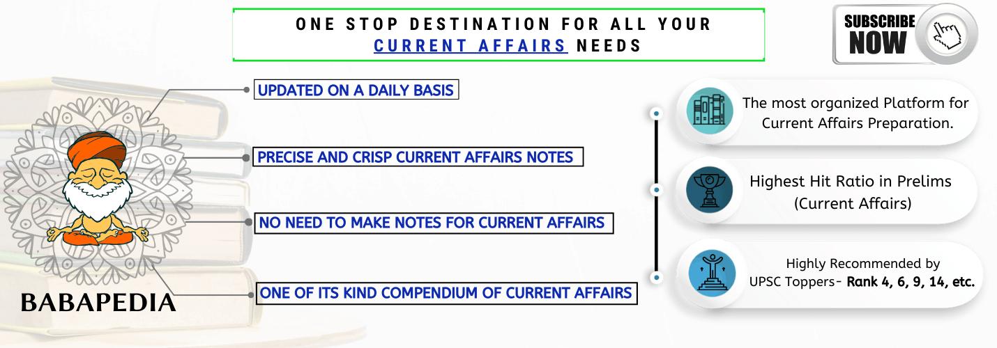 Current Affairs IAS UPSC