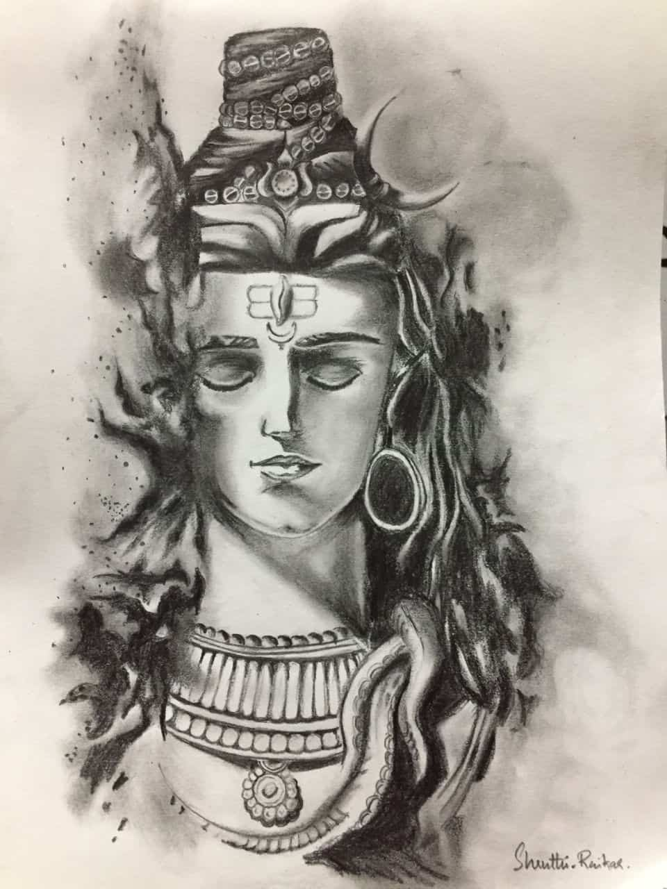 IASbaba - Catharsis- Pencil Sketching by Dr.Shruthi raikar 1
