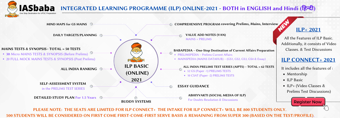 ILP CONNECT+ 2021 - ILP