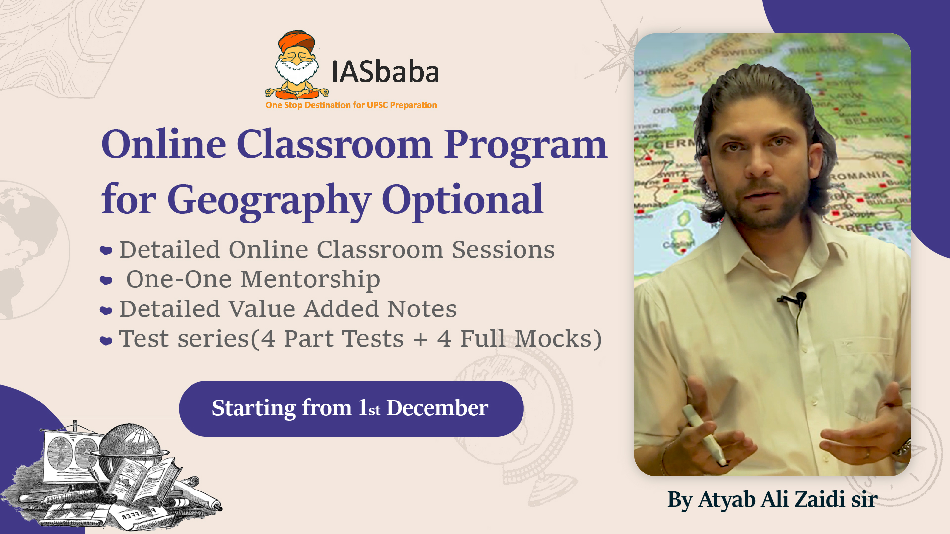Geography Optional Online Classroom Programme